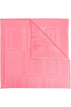 Etro Patterned jacquard scarf
