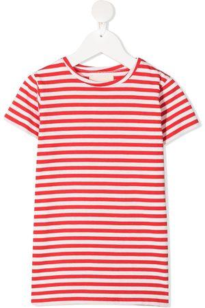 DOUUOD KIDS Girls Short Sleeve - Striped cotton t-shirt