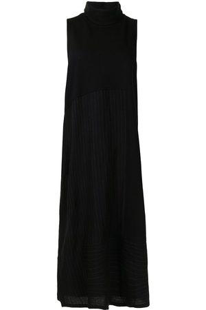 Y'S Women Sleeveless Dresses - Sleeveless roll neck dress