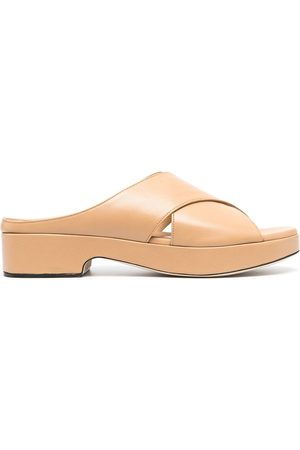 By Far Crossover sandals