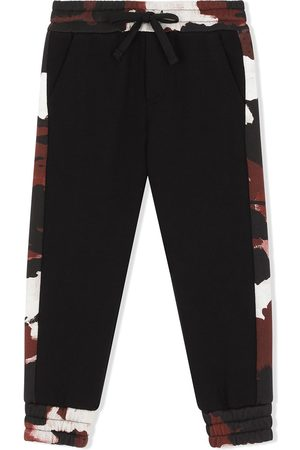 Dolce & Gabbana Camouflage print track pants