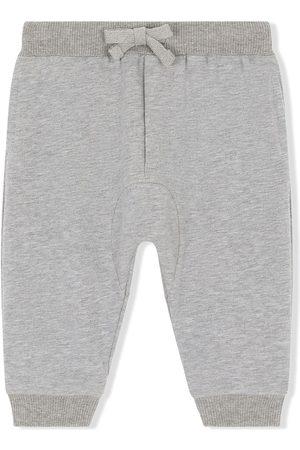 Dolce & Gabbana Baby Pants - Logo-patch track pants