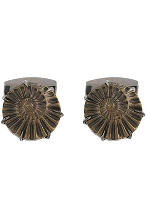 Tateossian Men Cufflinks - Ammonite cuff-links