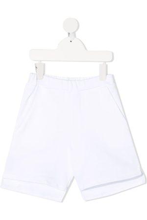 DOUUOD KIDS Boys Shorts - Logo-print track shorts