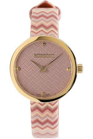 Missoni Women Watches - M1 chevron-strap watch