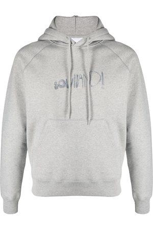 Soulland Men Sweatshirts - Pencil logo-print hoodie