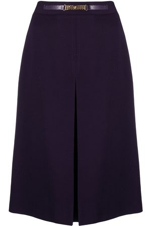 Céline Women Skirts - Pre-owned belted A-line skirt