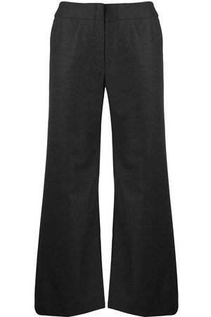 CHANEL Wide-legged tailored trousers