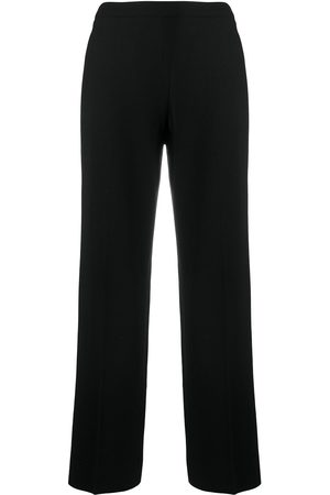 CHANEL Straight-fit tailored trousers