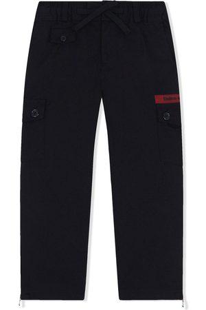 Dolce & Gabbana Boys Trousers - Logo-print track pants