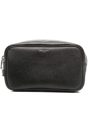 Saint Laurent Small leather wash bag