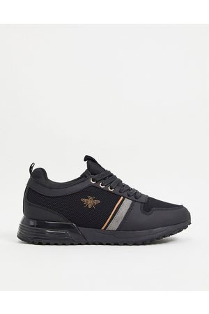 River Island Embroidered trainer in