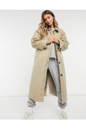 ASOS Boyfriend trench with quilted liner in