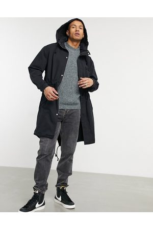 ASOS Parka jacket with funnel neck in