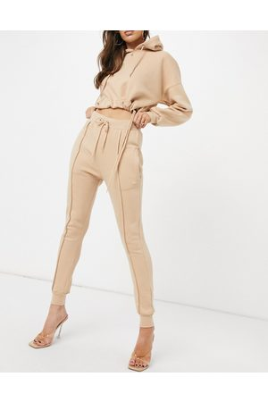 Femme Luxe Women Tracksuits - Tracksuit set in camel