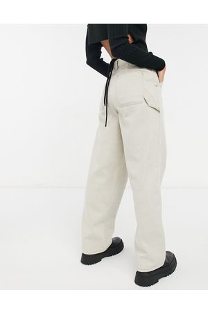 ASOS High rise 'worker' jeans in
