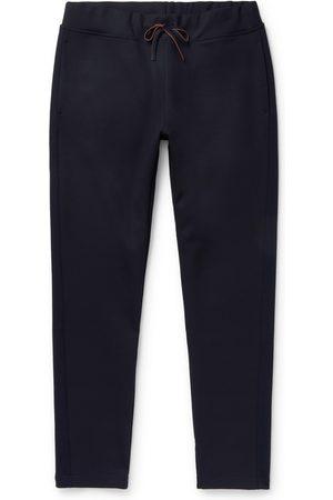 Loro Piana Men Formal Pants - Holburn Tapered Stretch Wish Virgin Wool Sweatpants