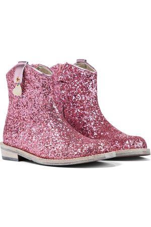 MONNALISA Women Cowboy & Biker Boots - Glitter cowboy boots