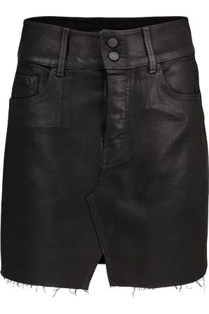 GRLFRND Women Denim Skirts - Evie high-rise denim miniskirt