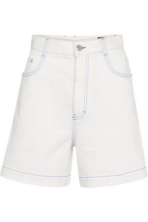 Stella McCartney Women Shorts - Denim shorts