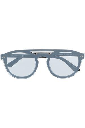Calvin Klein Round-frame sunglasses