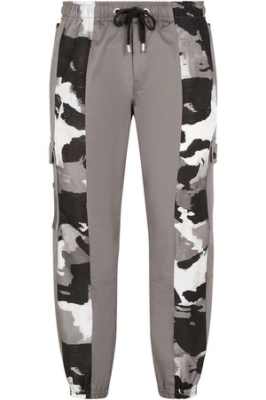 Dolce & Gabbana Camouflage-panelled cargo trousers