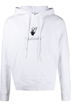 OFF-WHITE Men Sweatshirts - OFFF GRAFF SLIM HOODIE HIGH