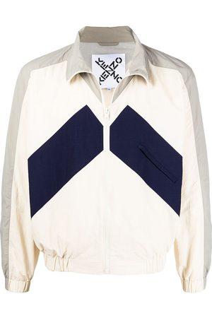 Kenzo Panelled windbreaker jacket