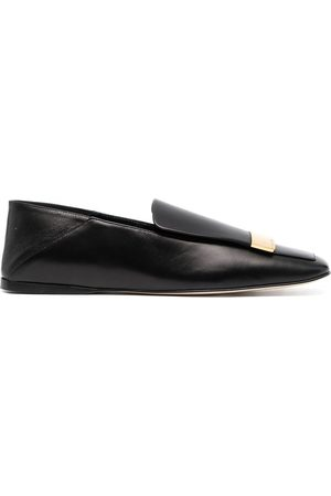 Sergio Rossi Square-toe loafers