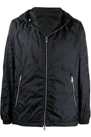 Moncler Logo-print zip-up lightweight jacket