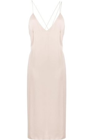 AERON V-neck slip dress