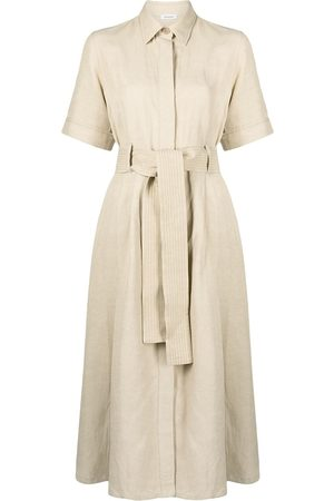 P.a.r.o.s.h. Belted shirt dress