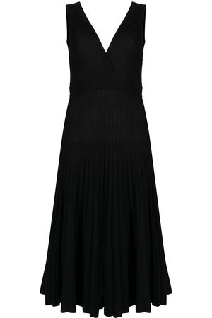 P.a.r.o.s.h. V-neck knitted midi dress