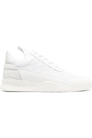 Filling pieces High-top lace-up trainers