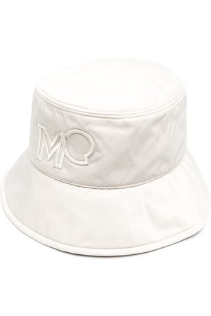 Moncler Women Hats - Logo embroidered bucket hat