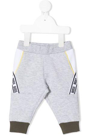 HUGO BOSS Baby Pants - Logo stripe track pants