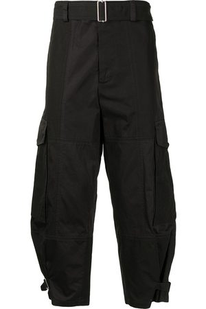 J.W.Anderson Belted-waist cargo trousers
