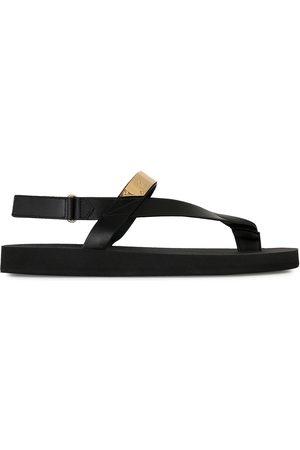 Giuseppe Zanotti Men Sandals - Metallic detail thong sandals