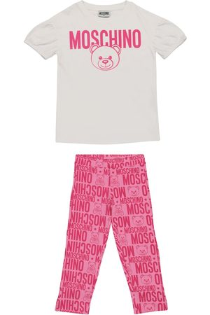 Moschino Logo stretch-cotton outfit