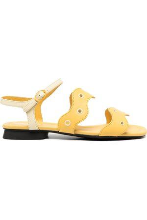 Camper Women Sandals - Eyelet straps sandals