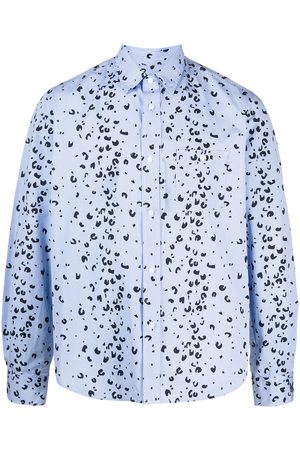 Kenzo Abstract-print long-sleeve shirt