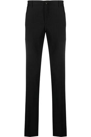 Etro Men Skinny Pants - Side stripe-trim skinny trousers