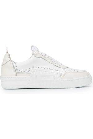 Thom Browne Tricolour stripe detail sneakers