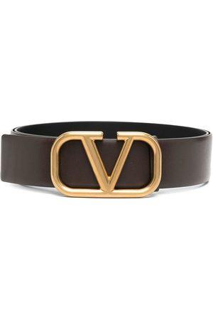 VALENTINO GARAVANI Men Belts - VLOGO leather belt