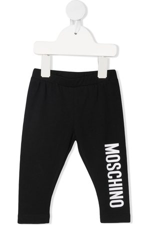 Moschino Logo-print leggings