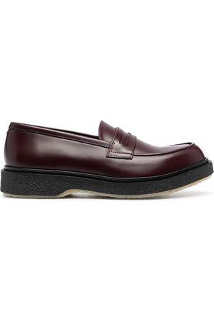 ADIEU PARIS Type 5 leather loafers