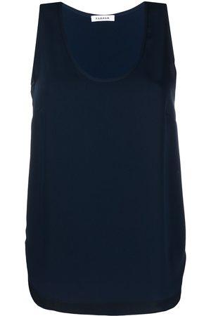 P.a.r.o.s.h. Women Tank Tops - Sleeveless scoop neck blouse