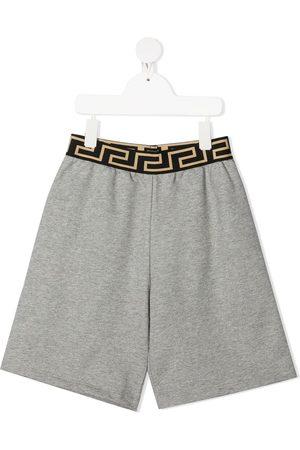 VERSACE Greca-print shorts
