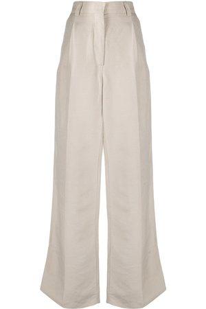 Soulland Women Wide Leg Pants - Margaret trousers