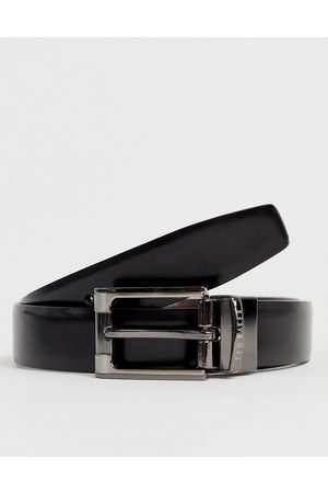 Ted Baker Crafti leather reversible belt in
